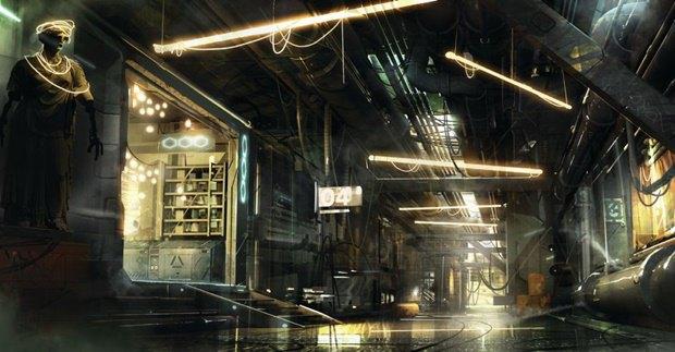 «Утекли» скриншоты неанонсированной игры Deus Ex: Mankind Divided. Изображение № 3.