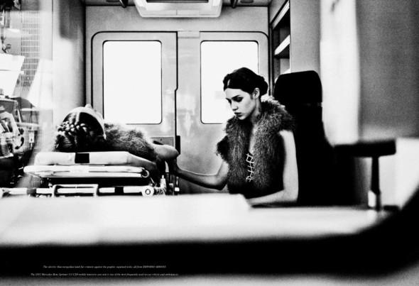 Съёмка: Анаис Пульо и Коди Янг для Grey. Изображение № 16.