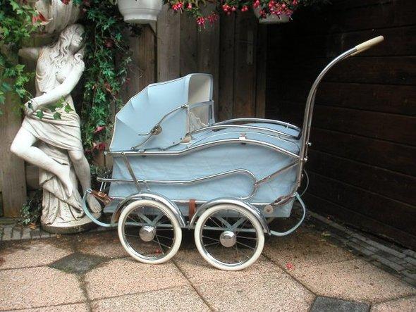 Ретро – kinderwagen, stroller илидетская коляска. Изображение №10.