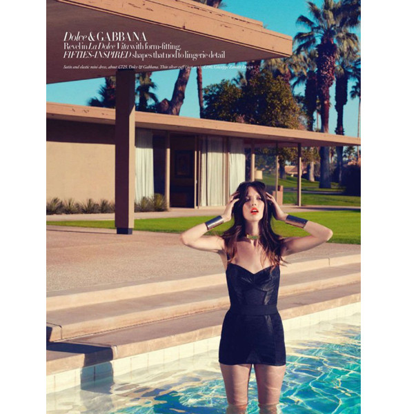 Изображение 6. Съемки: Harper's Bazaar, Metal, V и Vogue.. Изображение № 6.