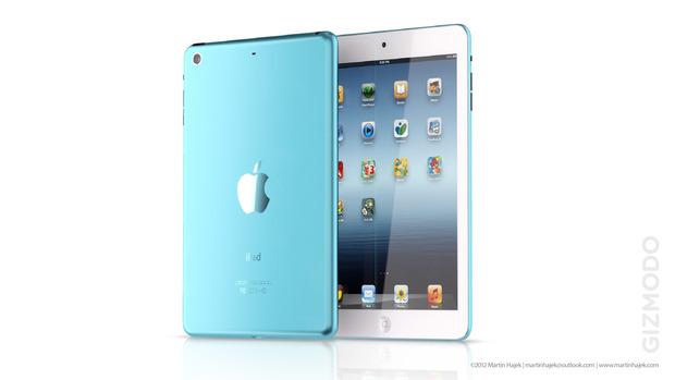 Предположительные варианты цветов iPad Mini. Изображение № 36.