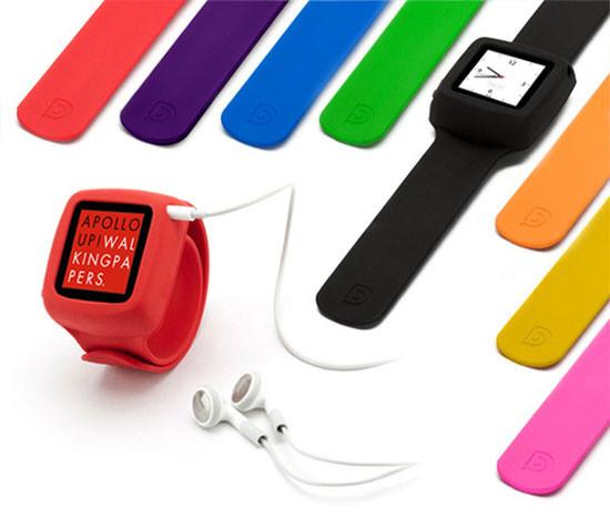 Элегантное превращение iPod nano в эффектные наручные часы. Изображение № 2.