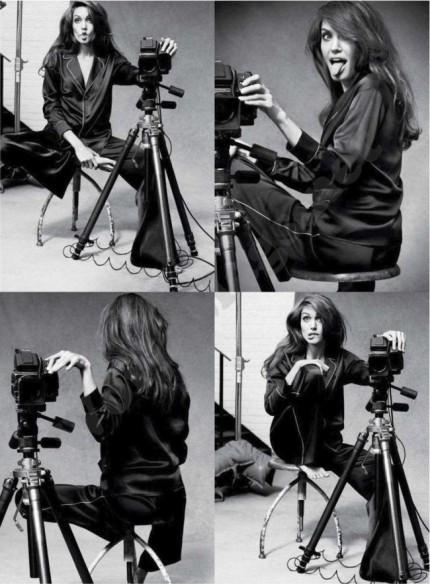 Съёмка: Анджелина Джоли для Marie Claire. Изображение № 3.