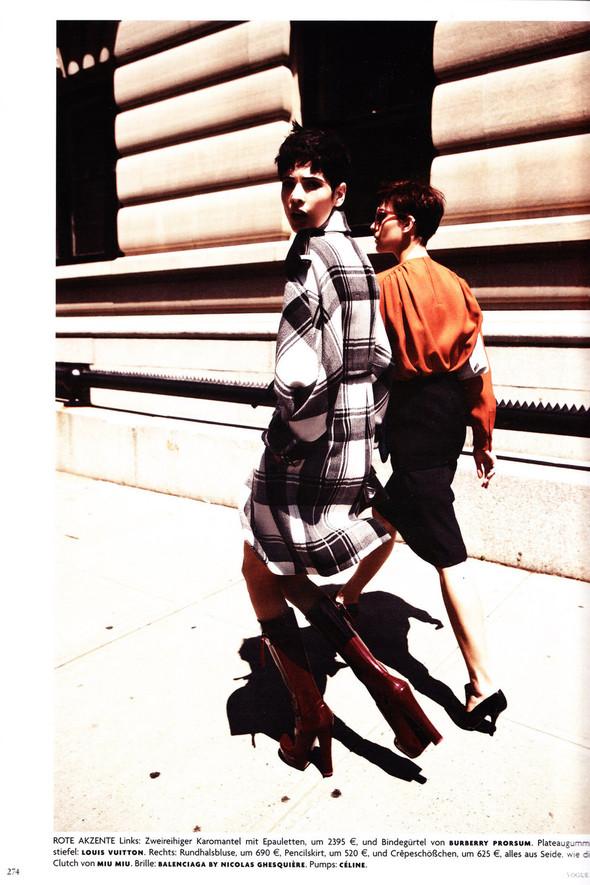 Съёмка: Хана Бен Абдесслем и Валерия Келава для Vogue. Изображение № 13.