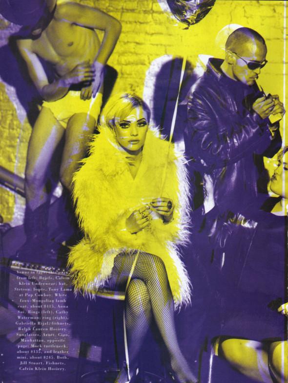 Архивная съёмка: Питер Линдберг для Harper's Bazaar, 1995. Изображение № 6.