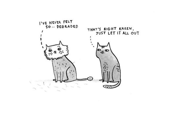 Gemma Correll и её коты. Изображение № 12.