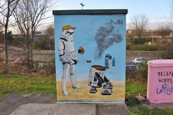 Изображение 12. Бристоль. Художественное граффити.. Изображение № 14.