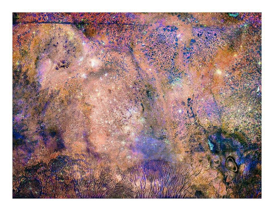 Космические пейзажи, созданные бактериями . Изображение № 17.