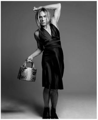 Изображение 1. Игги Поп и сумочка Dior.. Изображение № 1.