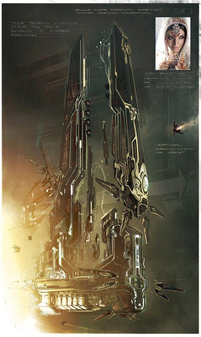 Художник «Восхождения Юпитер» выложил концепты к фильму. Изображение № 33.