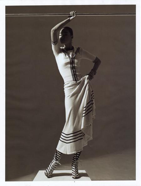 Бибисара Шарипова для Elle magazine. Изображение № 5.