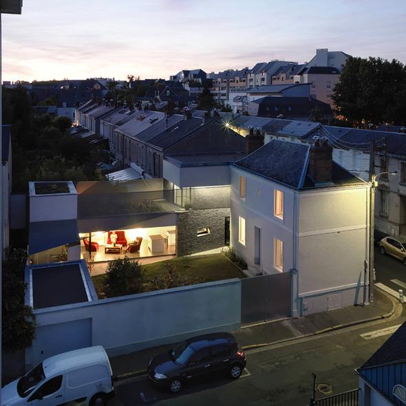 Огород на крыше дома от MU Architects. Изображение № 1.