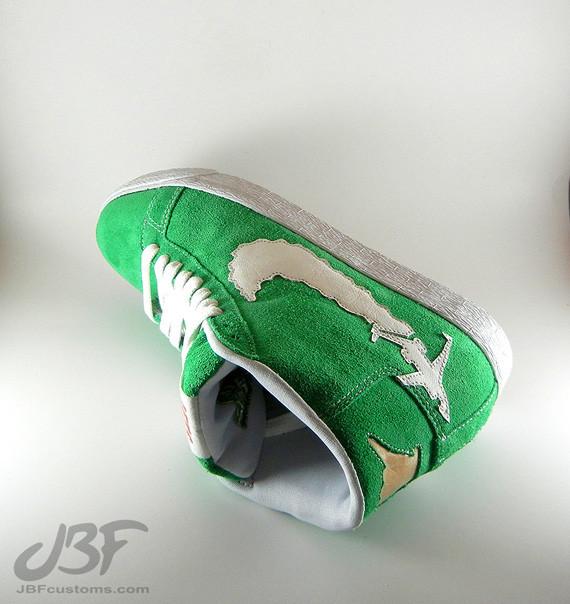 Nike Blazer Mid Jet Life II кастом от JBF. Изображение № 3.