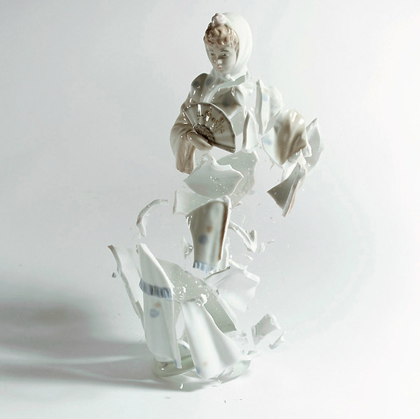 Когда разбитый фарфор становится искусством. Изображение № 18.