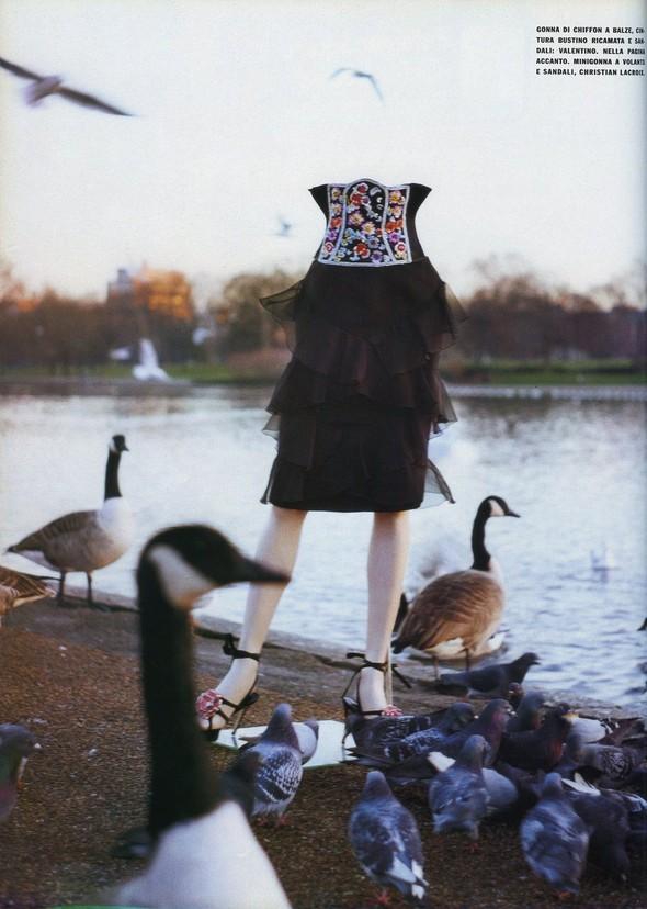 Архивная съёмка: Тим Уокер для итальянского Vogue за 2002 год. Изображение № 6.