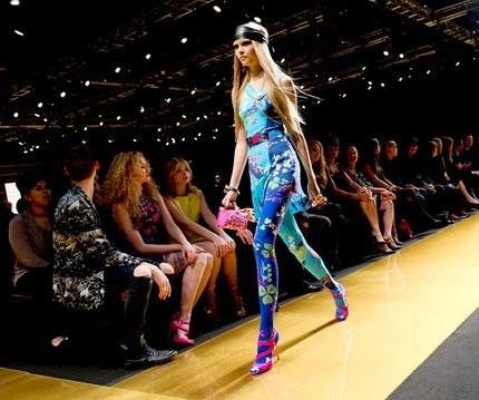 Презентация коллекции Versace for H&M в Нью-Йорке. Изображение № 1.