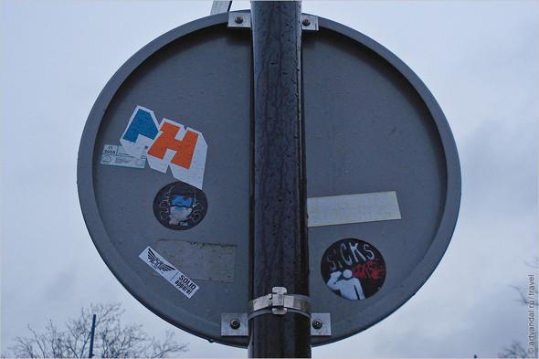 Стрит-арт и граффити Амстердама, Нидерланды. Изображение № 32.