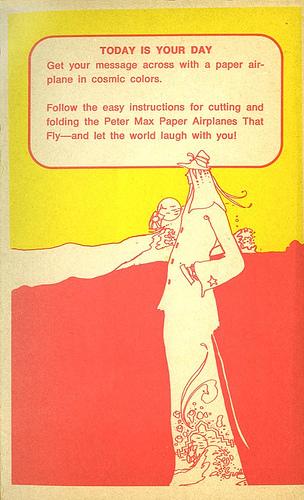 Хипповая книга 1971 года обумажных самолетиках. Изображение № 2.