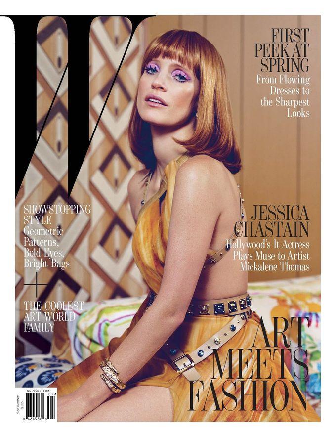 L'Officiel, Revs, W и другие журналы показали новые обложки. Изображение № 8.