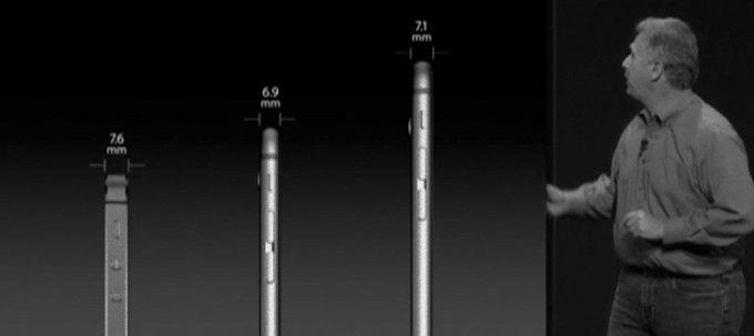 Журналист назвал толщину iPhone 6 обманом. Изображение № 1.