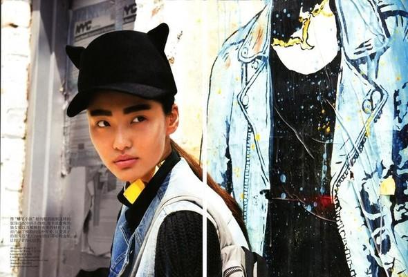 Съёмка: Томми Тон для китайского Vogue. Изображение № 6.