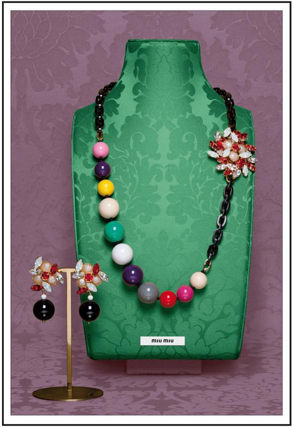 Изображение 21. Лукбуки: аксессуары и украшения Miu Miu FW 2011.. Изображение № 21.