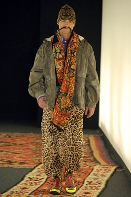 Milan Fashion week Летаргия Ferre и«таджикский гламур. Изображение № 10.
