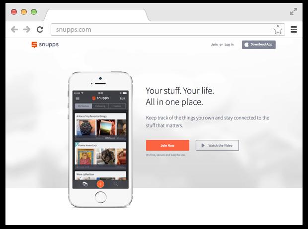 Как приложение Snupps помогает навести порядок в вещах. Изображение № 9.