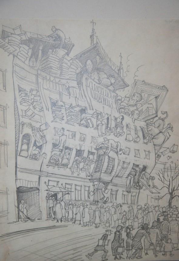 Советская карикатура НА ЗлоБу ДнЯ. Изображение № 6.
