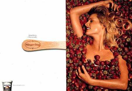 Леденящая воображение реклама мороженого. Изображение № 33.