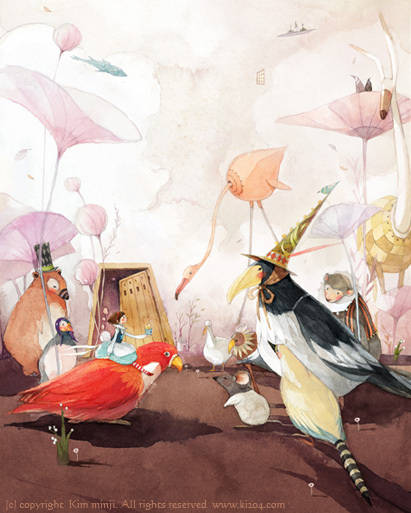 Kimmin ji– акварель видеальном исполнении. Изображение № 8.