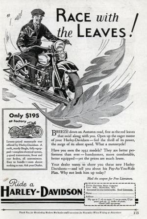 Harley Davidson: реклама легенды. Изображение № 1.