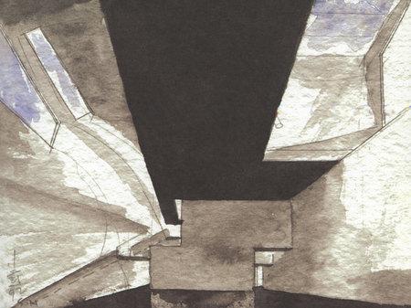 Архитектурные акварели стивена холла. Изображение № 7.