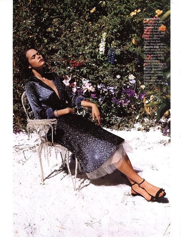 Архивная съёмка: Тим Уокер для Harper's Bazaar, 2000. Изображение № 11.