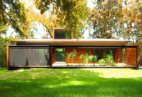 Железный дом(Ferrous House) вСША отJohnsen Schmaling. Изображение № 1.