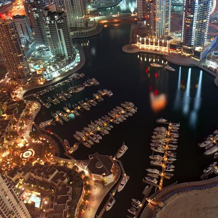 Мегаполисы ночью Гонконг, Дубаи, Нью-Йорк, Шанхай. Изображение № 13.