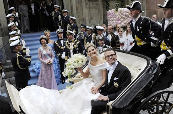 Свадьба шведской кронпринцессы Виктории. Изображение № 1.