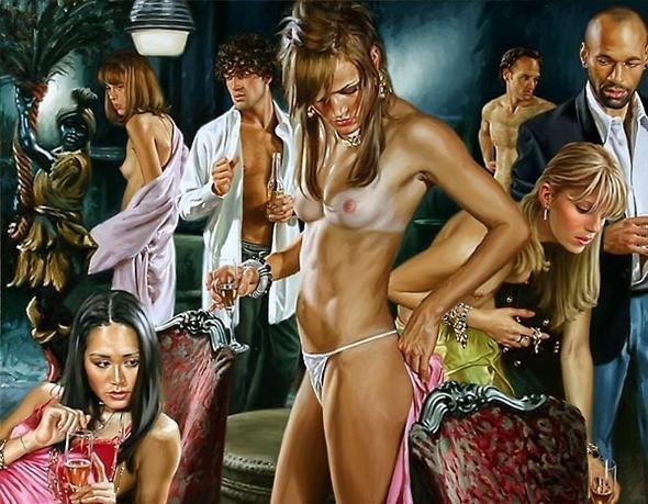 Изображение 26. Терри Роджерс выбрал для своего творчества тему молодежных фетишей: желание во всех ее переизбытках.. Изображение № 26.