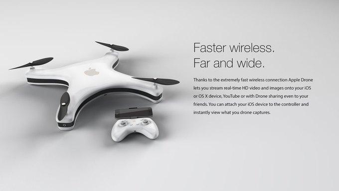 Немецкий дизайнер показал концепт Apple Drone. Изображение № 2.