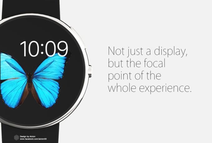 Концепт дня: круглые Apple Watch. Изображение № 6.