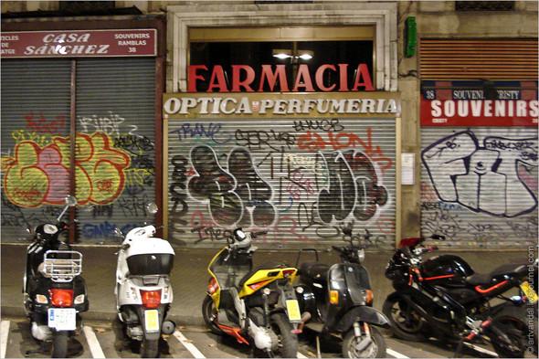 Стрит-арт и граффити Барселоны, Испания. Изображение № 22.