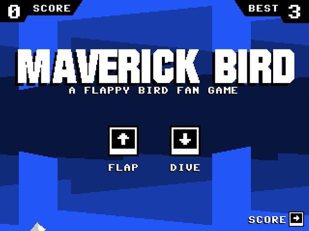 Создатель Super Hexagon выпустил трибьют Flappy Bird. Изображение № 1.