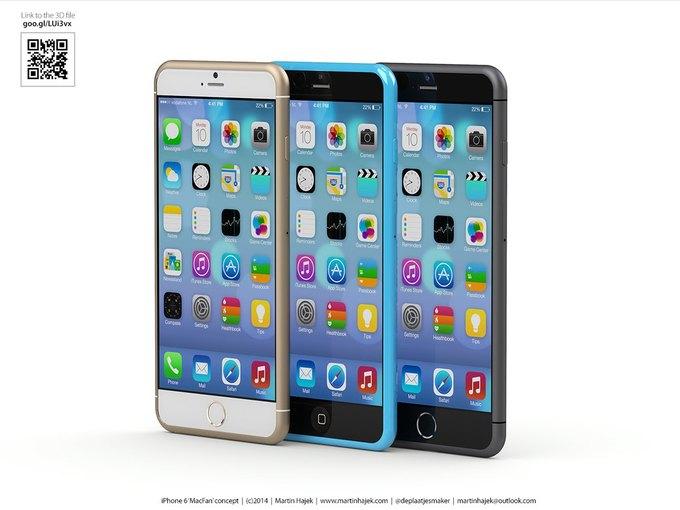 Дизайнер создал концепты iPhone 6s и 6c на основе «слива» из японского журнала. Изображение № 11.