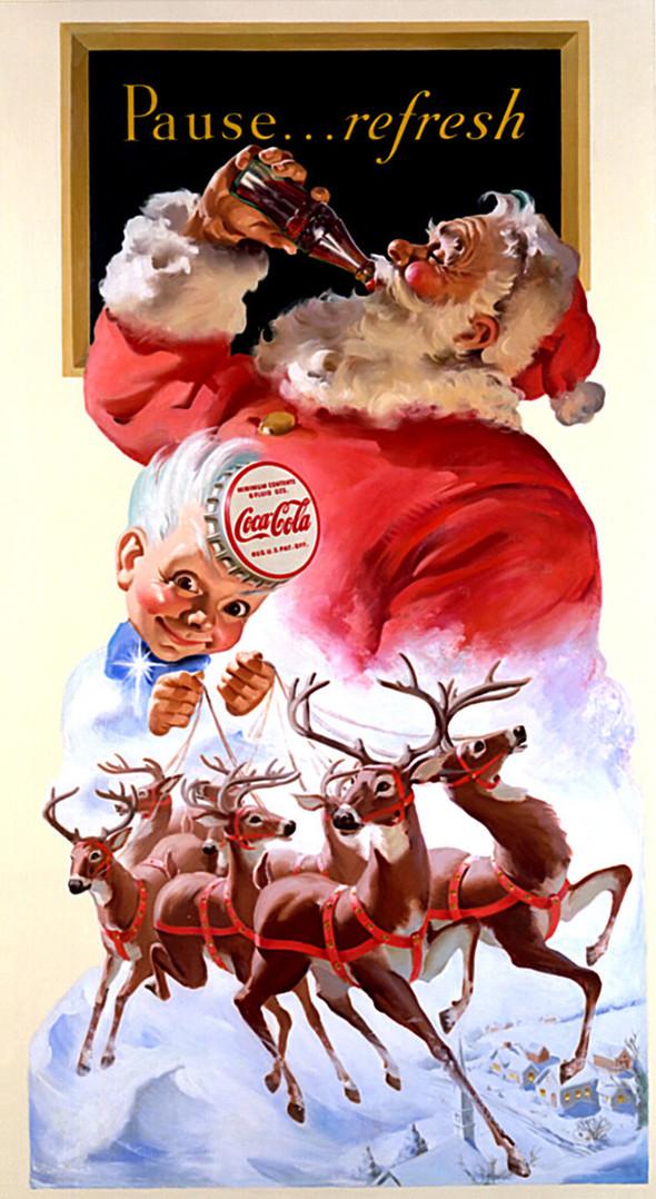 69 рождественских рекламных плакатов. Изображение № 28.