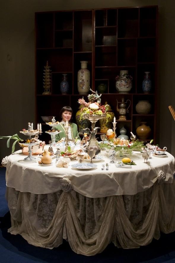 Под Новый год Наталья Жук устроила ужин с Джузеппе Арчимбольдо. Изображение № 3.