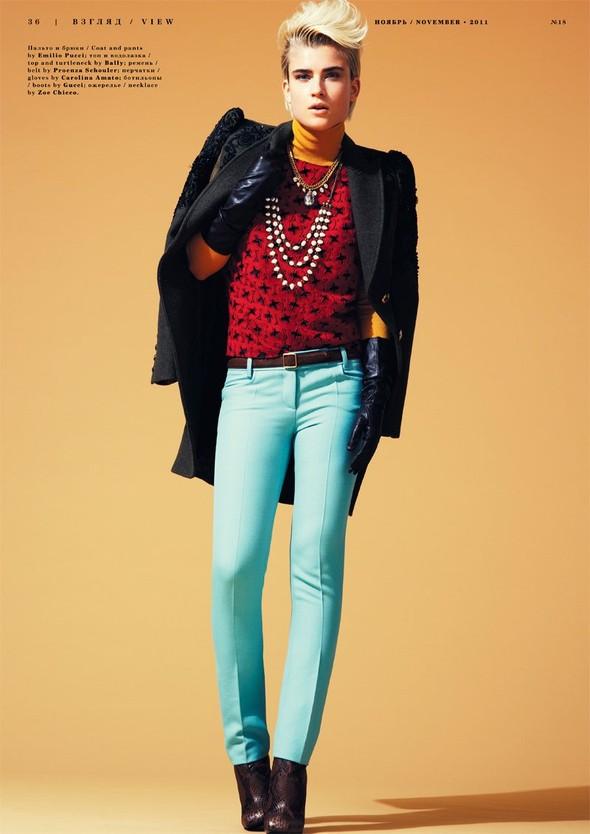 Съёмка: Яна Кнауэрова для Playing Fashion. Изображение № 5.