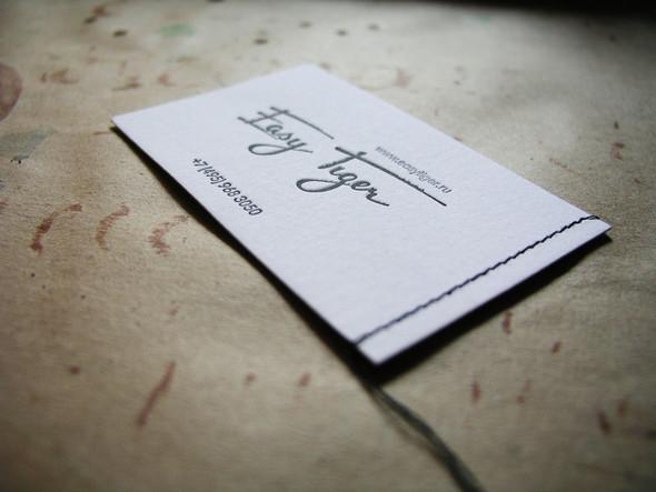 История одной визитки. Изображение № 3.