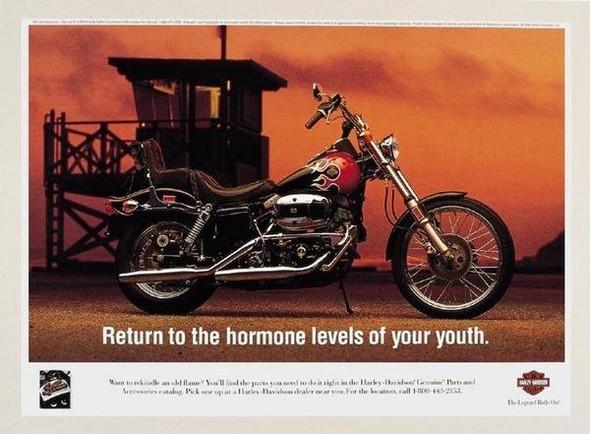 Harley Davidson: реклама легенды. Изображение № 10.
