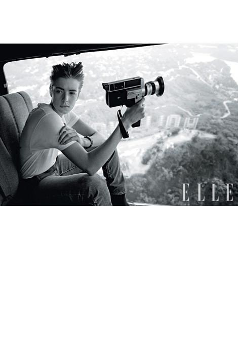 Изображение 2. Джеймс Франко снял Агнесс Дейн для Elle.. Изображение № 2.