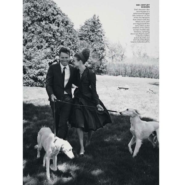 5 новых съемок: Amica, Elle, Harper's Bazaar, Vogue. Изображение № 28.